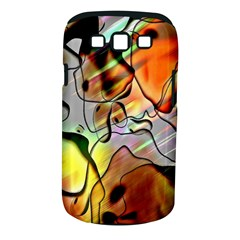 Abstract Pattern Texture Samsung Galaxy S III Classic Hardshell Case (PC+Silicone)