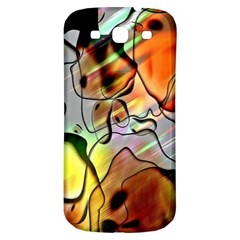 Abstract Pattern Texture Samsung Galaxy S3 S Iii Classic Hardshell Back Case