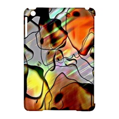 Abstract Pattern Texture Apple iPad Mini Hardshell Case (Compatible with Smart Cover)