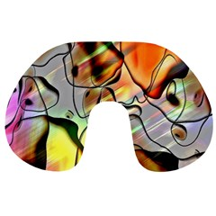 Abstract Pattern Texture Travel Neck Pillows