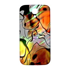Abstract Pattern Texture Samsung Galaxy S4 I9500/i9505  Hardshell Back Case