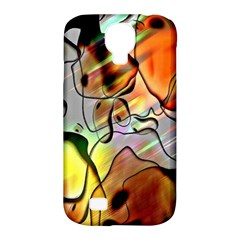 Abstract Pattern Texture Samsung Galaxy S4 Classic Hardshell Case (pc+silicone)