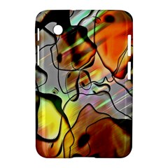 Abstract Pattern Texture Samsung Galaxy Tab 2 (7 ) P3100 Hardshell Case
