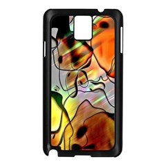 Abstract Pattern Texture Samsung Galaxy Note 3 N9005 Case (Black)