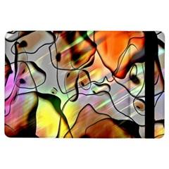 Abstract Pattern Texture iPad Air Flip
