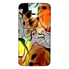 Abstract Pattern Texture Samsung Galaxy S5 Back Case (White)