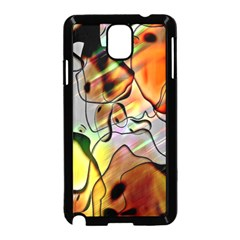 Abstract Pattern Texture Samsung Galaxy Note 3 Neo Hardshell Case (Black)