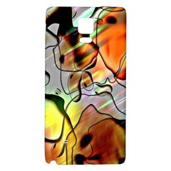 Abstract Pattern Texture Galaxy Note 4 Back Case