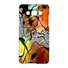 Abstract Pattern Texture Samsung Galaxy A5 Hardshell Case