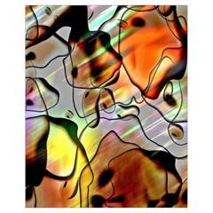 Abstract Pattern Texture Drawstring Bag (small)