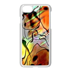 Abstract Pattern Texture Apple Iphone 7 Seamless Case (white)