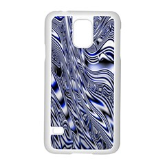 Aliens Music Notes Background Wallpaper Samsung Galaxy S5 Case (White)