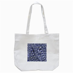 Aliens Music Notes Background Wallpaper Tote Bag (White)