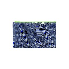 Aliens Music Notes Background Wallpaper Cosmetic Bag (xs)