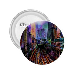 Downtown Chicago City 2.25  Buttons