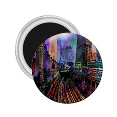 Downtown Chicago City 2.25  Magnets
