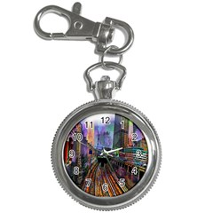 Downtown Chicago City Key Chain Watches