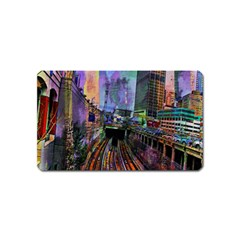 Downtown Chicago City Magnet (name Card)