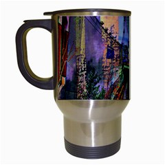 Downtown Chicago City Travel Mugs (White)