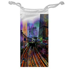 Downtown Chicago City Jewelry Bag
