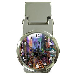 Downtown Chicago City Money Clip Watches