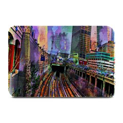Downtown Chicago City Plate Mats