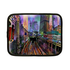 Downtown Chicago City Netbook Case (Small)