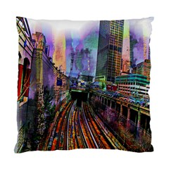 Downtown Chicago City Standard Cushion Case (Two Sides)