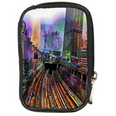 Downtown Chicago City Compact Camera Cases