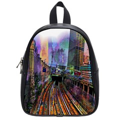 Downtown Chicago City School Bags (Small)
