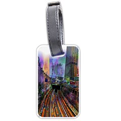 Downtown Chicago City Luggage Tags (One Side)