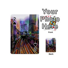 Downtown Chicago City Playing Cards 54 (Mini)