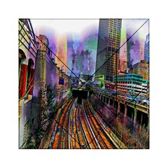 Downtown Chicago City Acrylic Tangram Puzzle (6  X 6 )