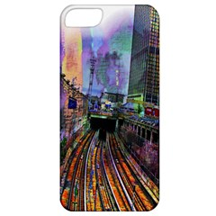 Downtown Chicago City Apple iPhone 5 Classic Hardshell Case