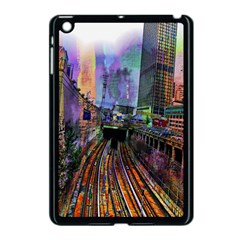 Downtown Chicago City Apple iPad Mini Case (Black)