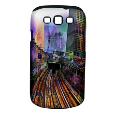 Downtown Chicago City Samsung Galaxy S Iii Classic Hardshell Case (pc+silicone)
