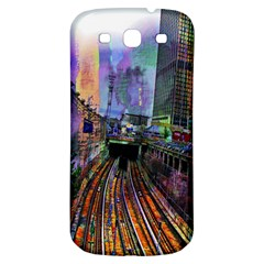 Downtown Chicago City Samsung Galaxy S3 S Iii Classic Hardshell Back Case