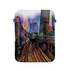 Downtown Chicago City Apple iPad 2/3/4 Protective Soft Cases