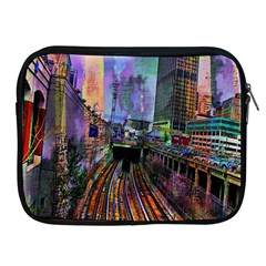 Downtown Chicago City Apple iPad 2/3/4 Zipper Cases