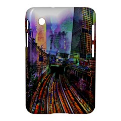 Downtown Chicago City Samsung Galaxy Tab 2 (7 ) P3100 Hardshell Case