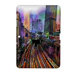 Downtown Chicago City Samsung Galaxy Tab 2 (10 1 ) P5100 Hardshell Case