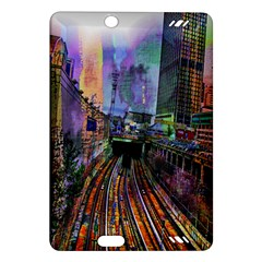 Downtown Chicago City Amazon Kindle Fire HD (2013) Hardshell Case
