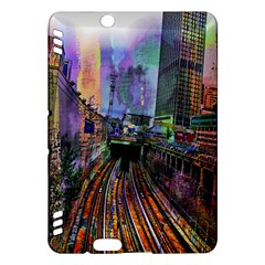 Downtown Chicago City Kindle Fire Hdx Hardshell Case