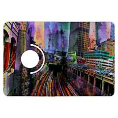 Downtown Chicago City Kindle Fire Hdx Flip 360 Case