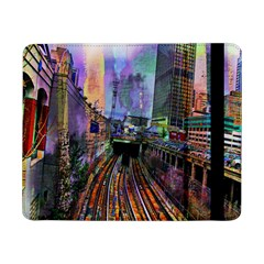 Downtown Chicago City Samsung Galaxy Tab Pro 8 4  Flip Case