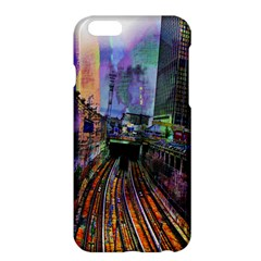 Downtown Chicago City Apple Iphone 6 Plus/6s Plus Hardshell Case