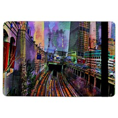 Downtown Chicago City iPad Air 2 Flip