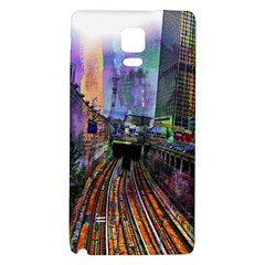 Downtown Chicago City Galaxy Note 4 Back Case