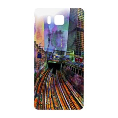Downtown Chicago City Samsung Galaxy Alpha Hardshell Back Case