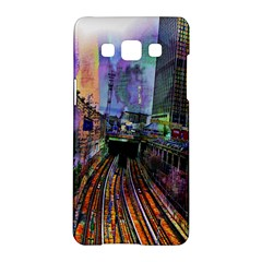 Downtown Chicago City Samsung Galaxy A5 Hardshell Case